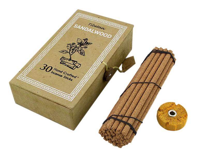 Tibetische Sandalwood Räucherstäbchen mit Box