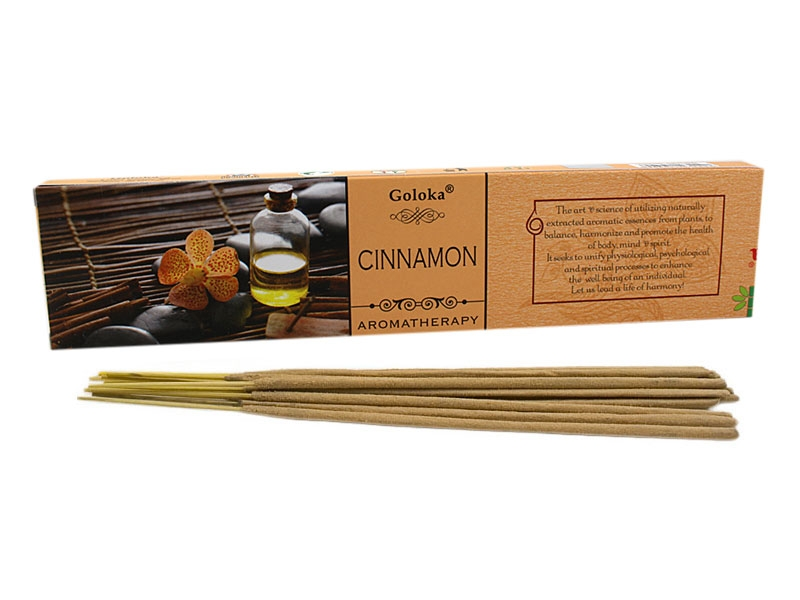 Räucherstäbchen - Goloka Cinnamon