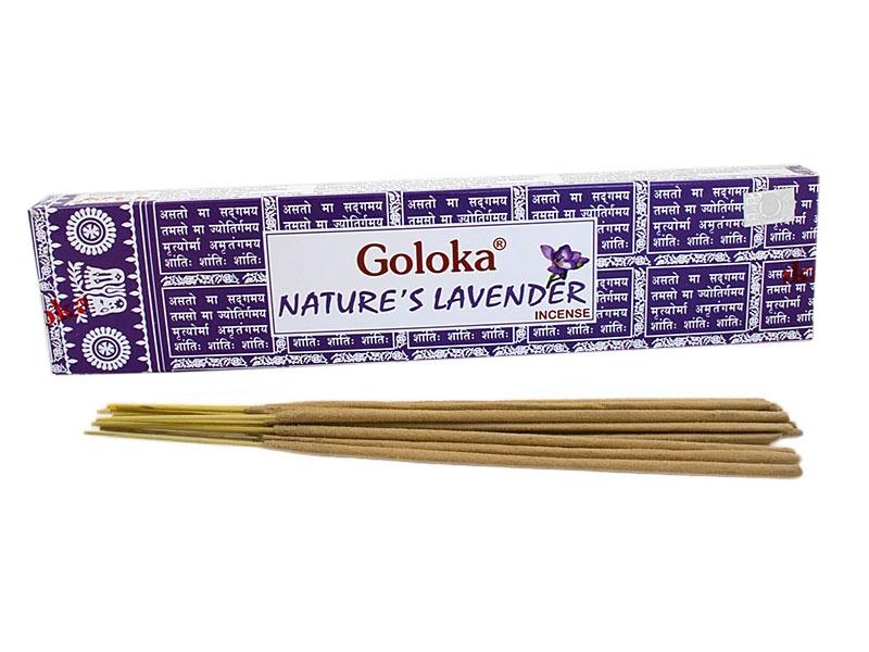 Räucherstäbchen - Goloka Natures Lavender