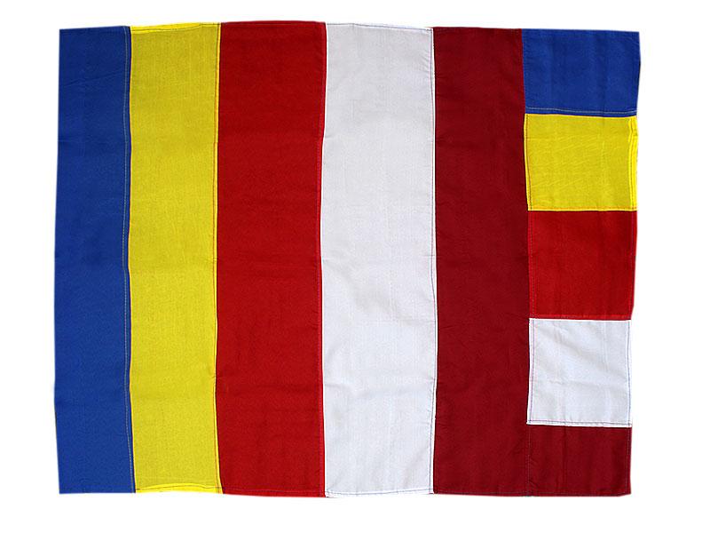 Tibetische buddhistische Fahne Flagge - 70 x 85 cm