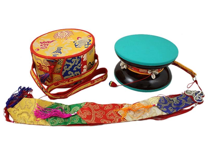 Große Damaru - Tibetische Handtrommel
