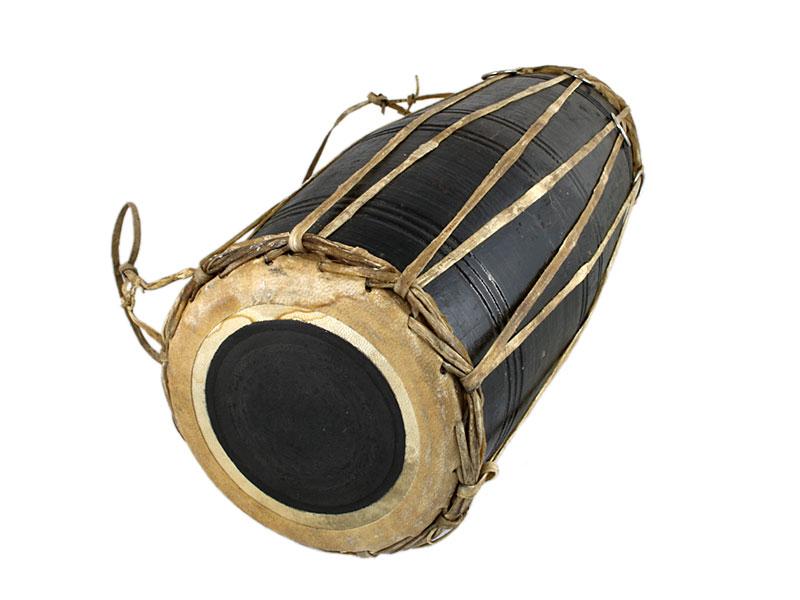 Nepalesische Handtrommel Mandal