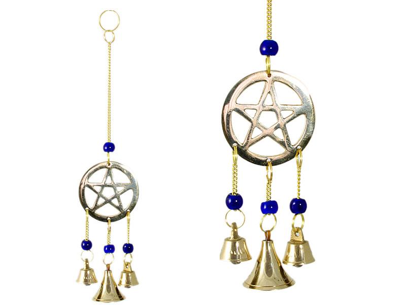 Windspiel Glockenspiel Pentagramm
