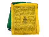 Gebetsfahne mit 25 Fahnen Baumwolle Premium mittel