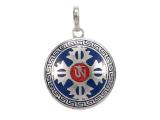 Anhänger Amulett - Doppel Dorje