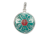 Anhänger Amulett - Buddha Augen