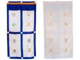Tibetischer Türbehang - 8 Glückssymbole