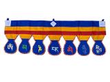 Tibetischer Wand- Türbehang - Om Mani Padme Hum