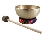 Kangschalen Set Tibet mit Kissen und Schlägel