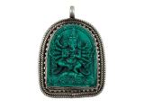 Ganesha Anhänger - Türkis