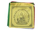 Tibetische Gebetsfahnen Medizin Buddha 5 Fahnen