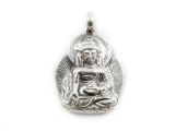Anhänger Medizin Buddha - 925 Sterling Silber