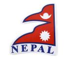 Aufkleber Sticker - Flagge Nepal