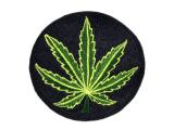 Aufnäher / Patch - Cannabis Blatt