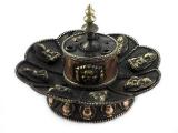 Räucherstäbchenhalter -  Lotus mit Medizin Buddha