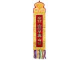 Tibetischer Wandbehang - 8 Glücksymbole (TW-1009)