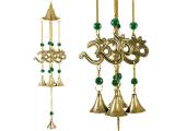 Windspiel - Glockenspiel mit 4 Om Symbolen