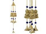 Windspiel - Glockenspiel mit 4 Buddhas