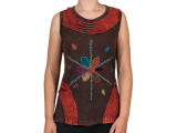 Patchwork T-Shirt - Hippie Flower