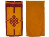 Tibetischer Türbehang - Unendlicher Knoten
