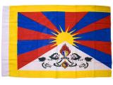 Flagge Fahne Tibet - 100 x 62 cm