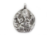 Anhänger Ganesha SA-1027 - 925er Sterling Silber