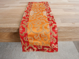 Tischläufer Brokat Lotus Tibet