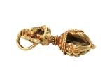 Ganesh Dorje Amulett Anhänger Kupfer vergoldet
