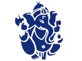Ganesha Aufkleber Sticker