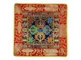 Altardecke aus Brokat Doppel Dorje