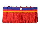 Shambu - Tibetischer Deckenbehang 10 m rot
