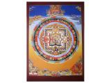 Dharma Poster Kalachakra Mandala