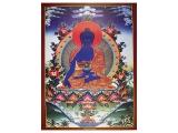 Dharma Poster mit Medizin Buddha