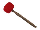 Klangschalen Filzschlägel weich rot 46 cm