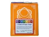 Tibetische Gebetsfahnen - 7 Chakren