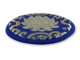 Klangschalenkissen Lotus rund flach 15 cm