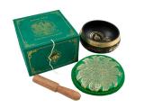 Klangschalen Geschenkset - Grüne Tara