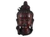 Shiva Maske rot