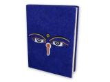 Notizbuch Buddha Augen 15 x 11 cm