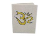 Notizbuch Baumwolle bestickt mit Symbolen