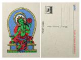 Postkarte Grüne Tara Lokta Papier
