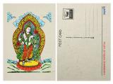 Postkarte Weiße Tara Lokta Papier