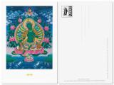 Postkarte Grüne Tara