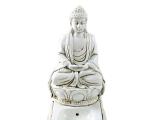 Räucherstäbchenhalter Buddha weiß