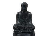 Räucherstäbchenhalter Buddha schwarz
