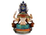 Chenrezig Buddha Avalokiteshvara bemalt