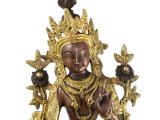 Grüne Tara Statue Messing 35 cm