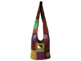 Patchwork Tasche Batik bunt Yin und Yang