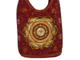 Tasche mit Buddha Augen im Lotus bestickt