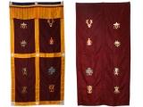 Tibetischer Türbehang - Glückssymbole